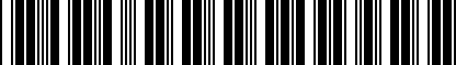Barcode for DRG004910