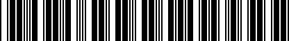 Barcode for DRG004917